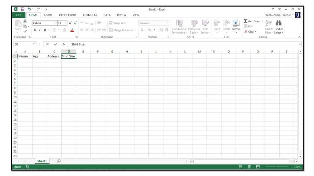 How To Create Tables In Microsoft Excel 2013 Excel Hacks Excel