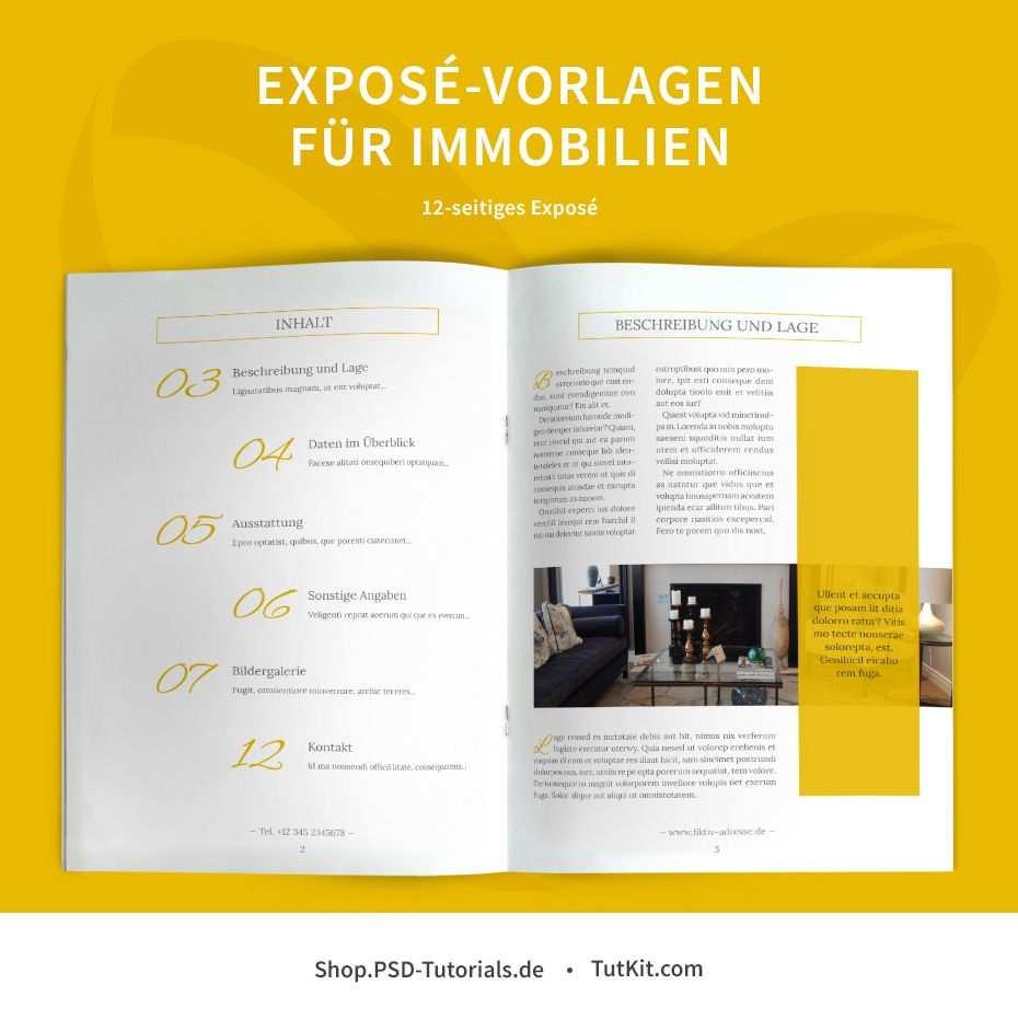 Expose Vorlagen Fur Immobilien Hauser Word Indesign Corel