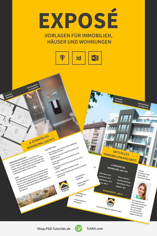 Expose Vorlagen Fur Immobilien Hauser Und Wohnungen Vorlagen