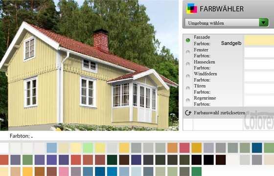 Farbkonfigurator Schwedischer Farbenhandel