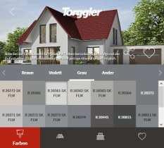 Konfigurator Zur Auswahl Der Farbe Fur Die Hausfassade