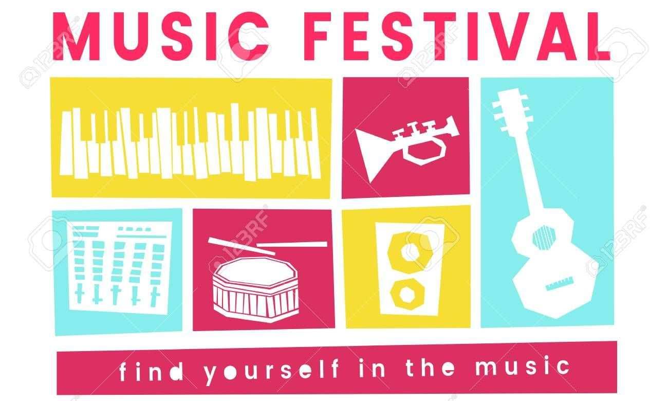 Illustration Of Music Festival Passion Leisure Activity Aff