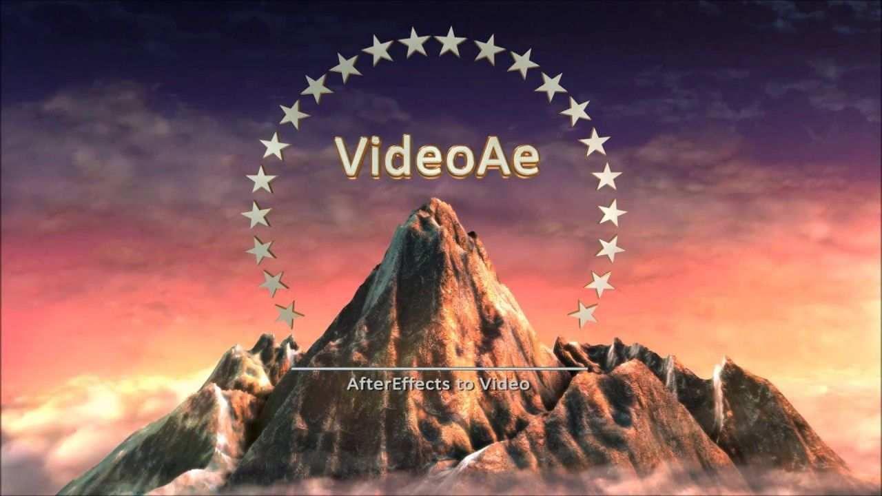 Paramount Movie Intro By Videoae Logo Reveal Mountain Logos