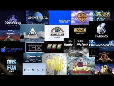 Movie Studio Logo Animation Compilation Youtube Movie Intro