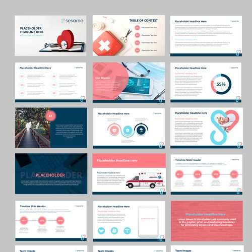 Powerpoint Template For Consumer Health Brand Powerpoint Template