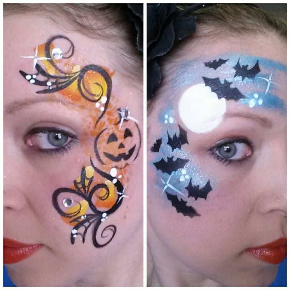 Halloween Face Painting Trucco Per Halloween Per Bambini Trucco