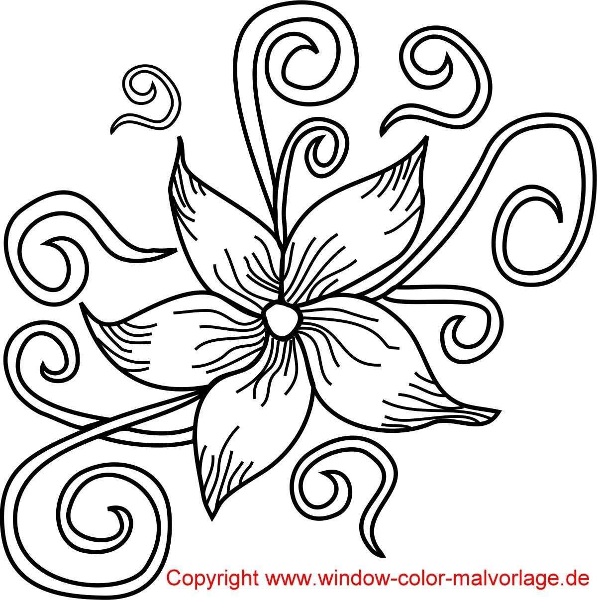 Malvorlagen Blumen Ranken Ausmalbilder 2003321 Affefreund Com