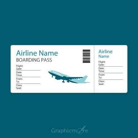 10 Boarding Pass Templates Free Printable Samples Examples In