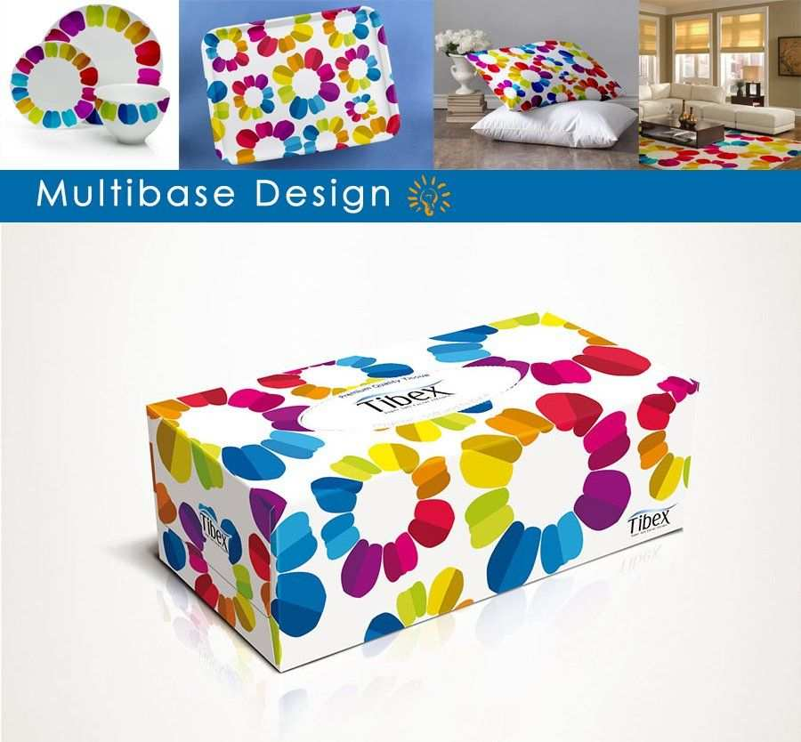 Tissue Box Design In Psd Template Packaging Box Template