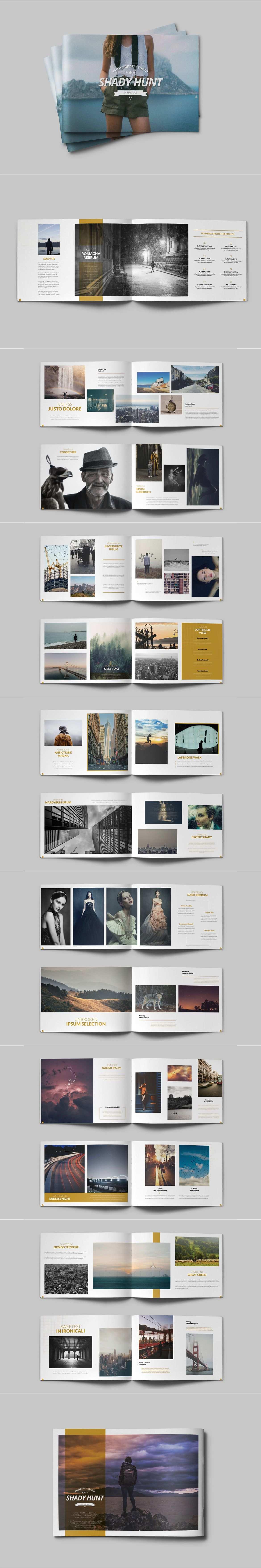 Portfolio Album By Siroolee On Broschuren Layout Fotobuch