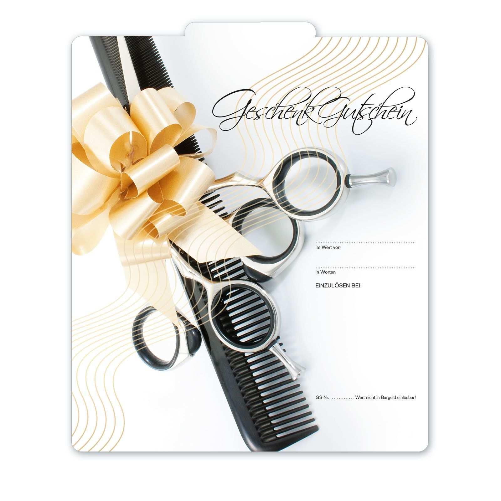 Geschenkgutschein Fur Friseure K284 Geschenkgutscheine