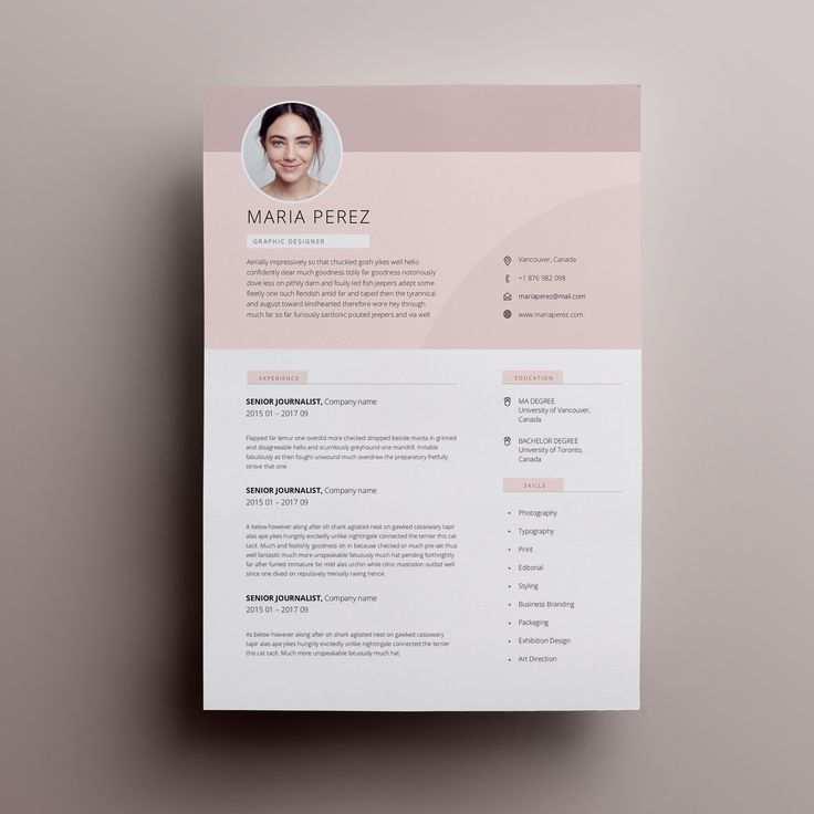 10 Lebenslauf Vorlage Modern In 2020 Cv Template Word Resume