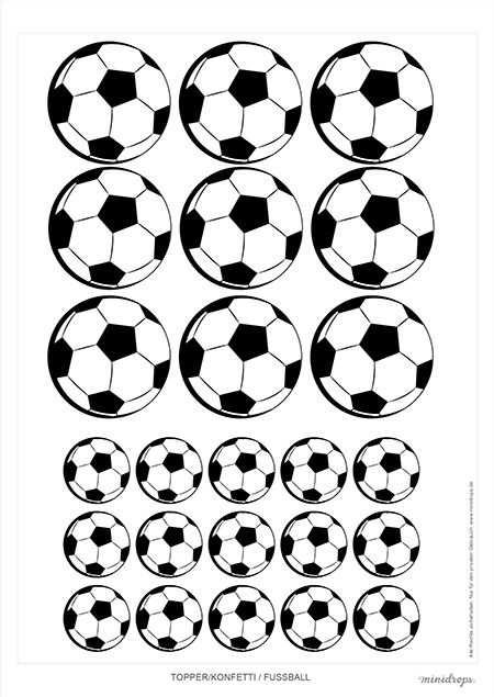 Kostenlose Fussball Printables Zum Ausdrucken Fur Die Fussballparty