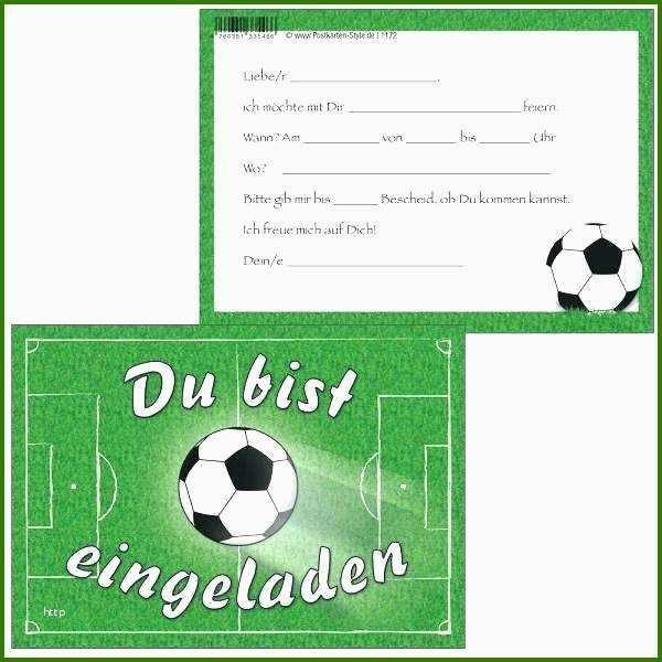 Einladung Kindergeburtstag Fussball Vorlage Kindergeburtstag