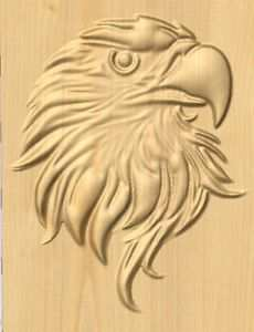 Uniquerc80 Yahoo Com Beautiful Carved Eagle Gcode For Cnc Machine