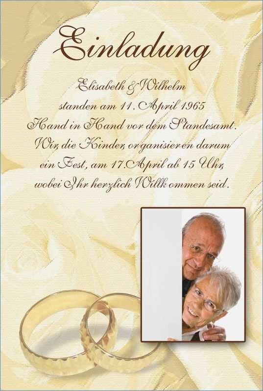 Pin Von Nicollchen Auf Goldene Hochzeit In 2020 Einladungskarten