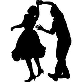 Free Svg Images 50 S Dancer Silouhettes Google Search Avec