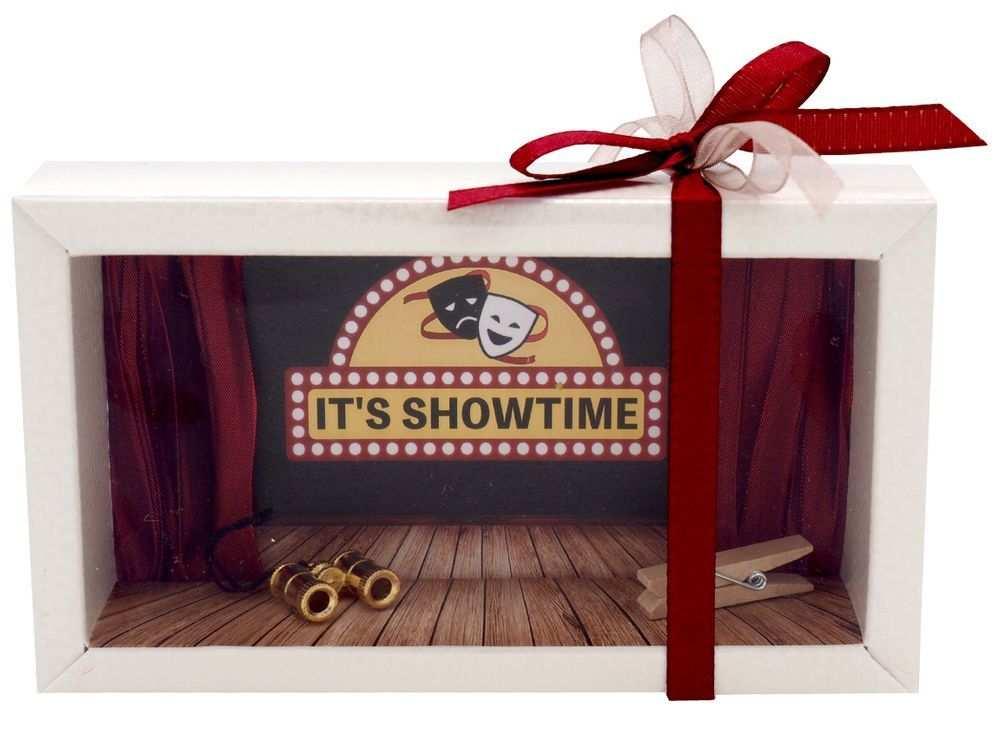 Geldgeschenk Verpackung Theater Oper Musical Geschenk Geschenke
