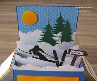 Gutschein Vorlage Skifahren
