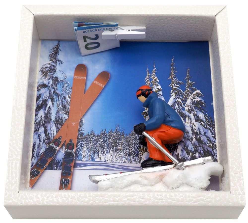 Geldgeschenk Verpackung Ski Geschenke Geschenke Verpacken