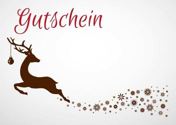Diy Bild Von Julia Arnold Gutschein Vorlage Weihnachten