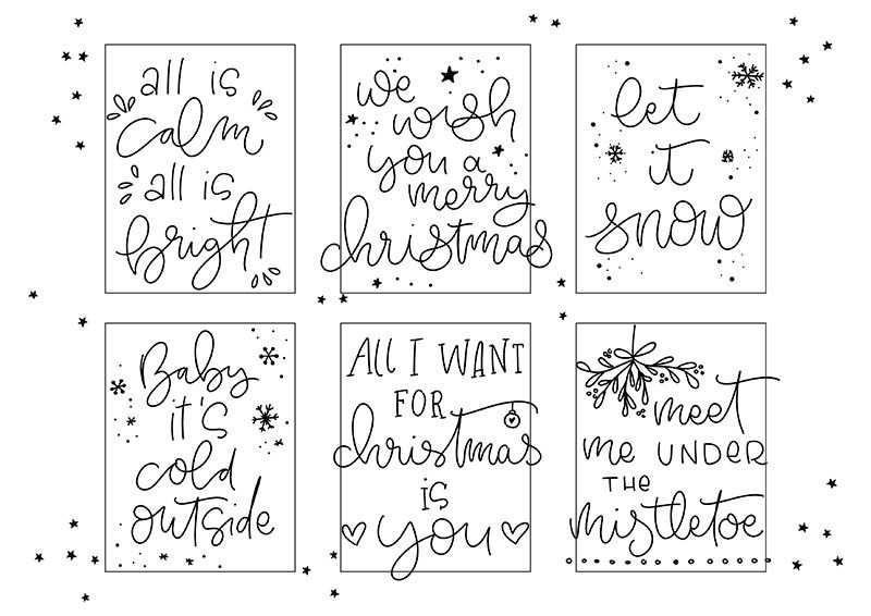 Windlichter Lettern Und Tipps Zur Falschen Kalligrafie
