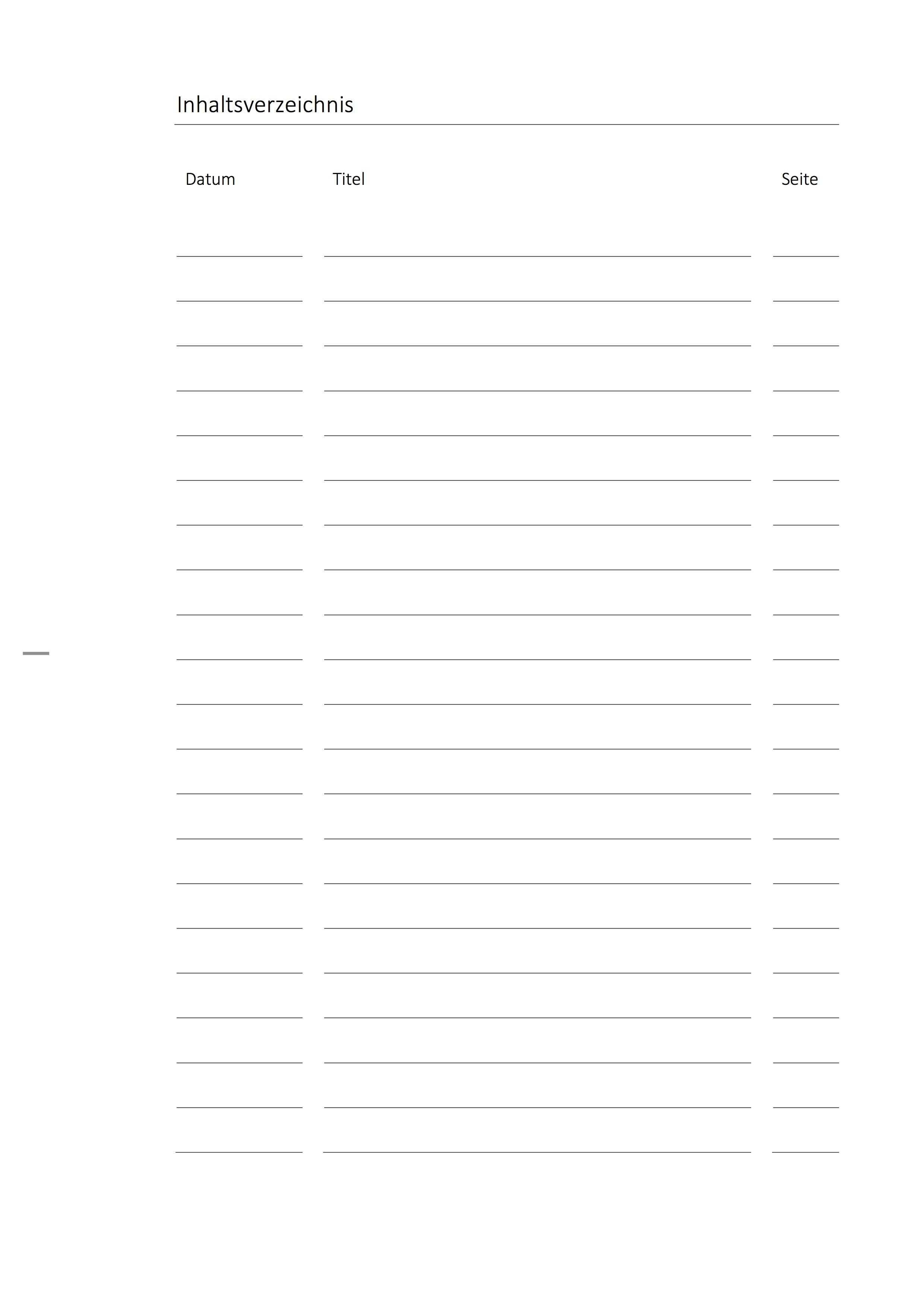 Deckblatt Paket Biologie Mit Inhaltsverzeichnis
