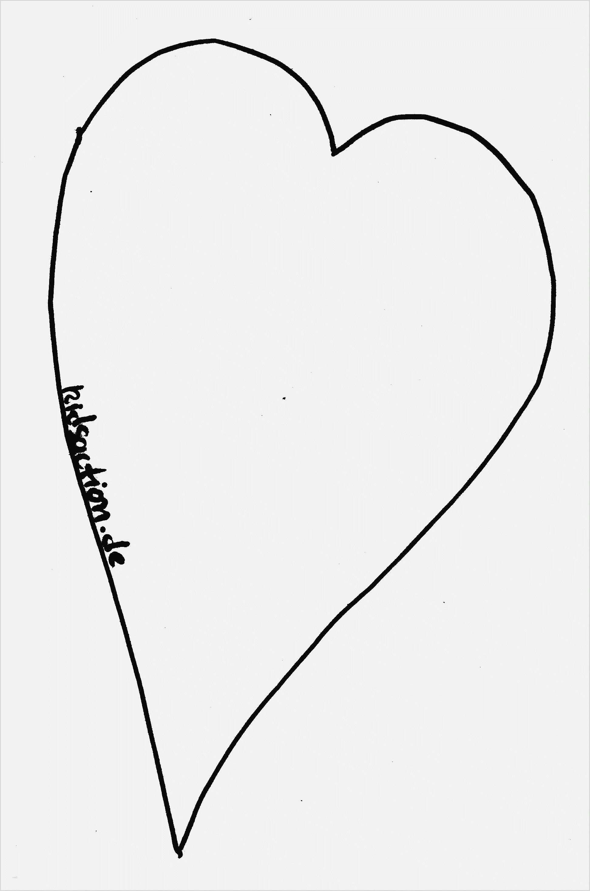 Einzigartig Herzen Vorlage Herz Vorlage Vorlagen Ausdrucken