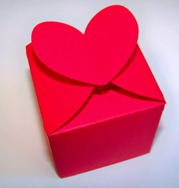 Schachtel Basteln Ideen Und Vorlagen Fur Geschenkbox Kastchen