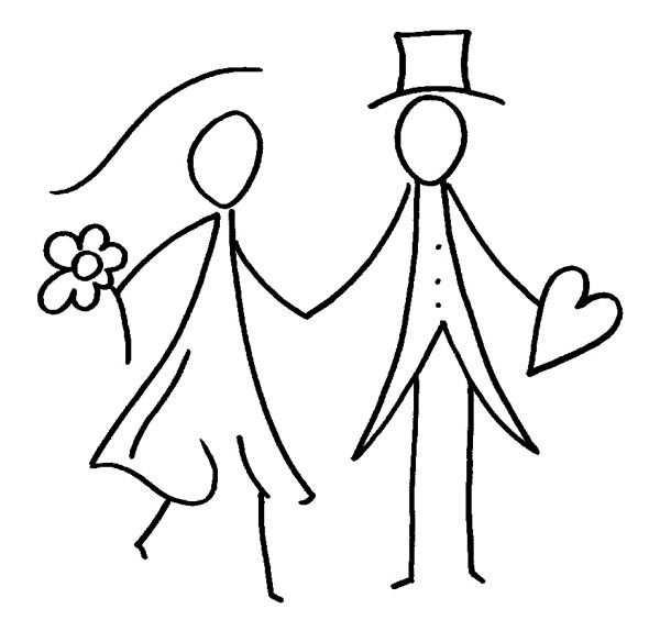 Brautpaar Mit Bildern Hochzeit Zeichnung Karte Hochzeit