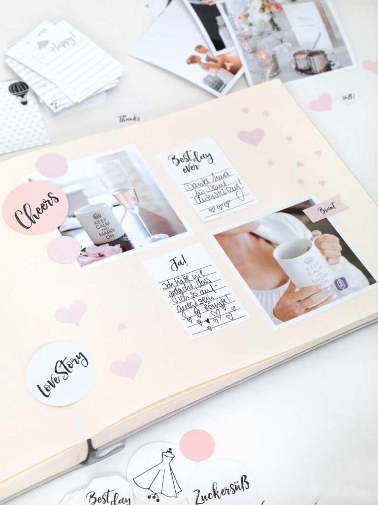 Hochzeitsalbum Wundervolle Goodies Zum Downloaden Mit Bildern