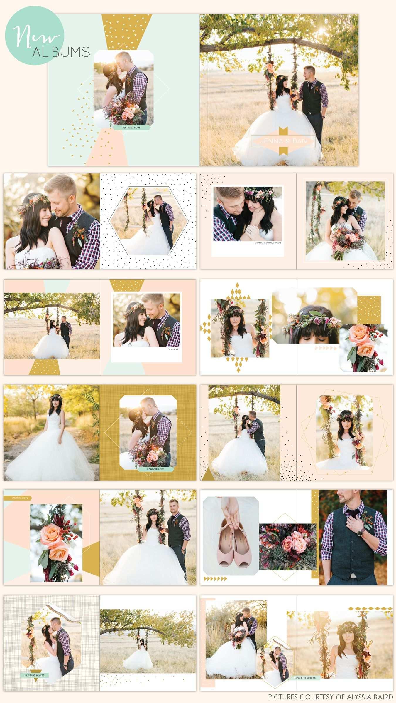 New Album Designs Hochzeitsbuch Fotobuch Und Hochzeitsalbum