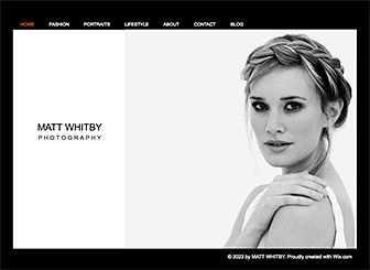 Html Homepage Vorlage Fur Maler Illustrator Wix Page 2
