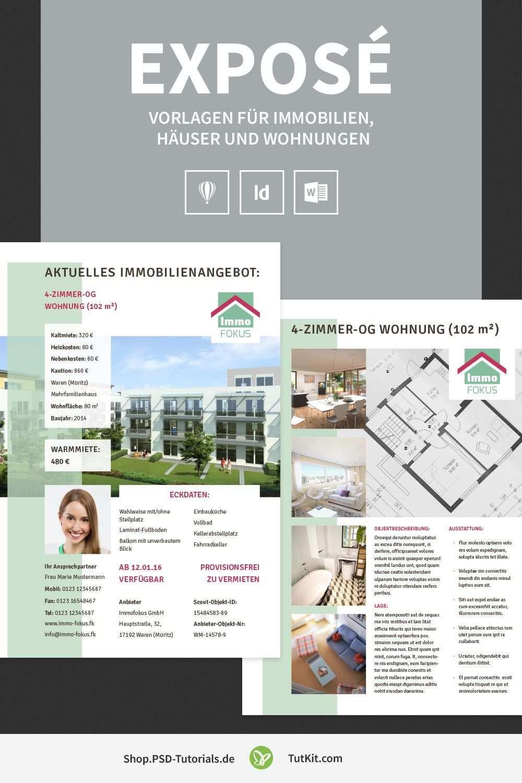 Expose Vorlagen Fur Immobilien Hauser Und Wohnungen Immobilien