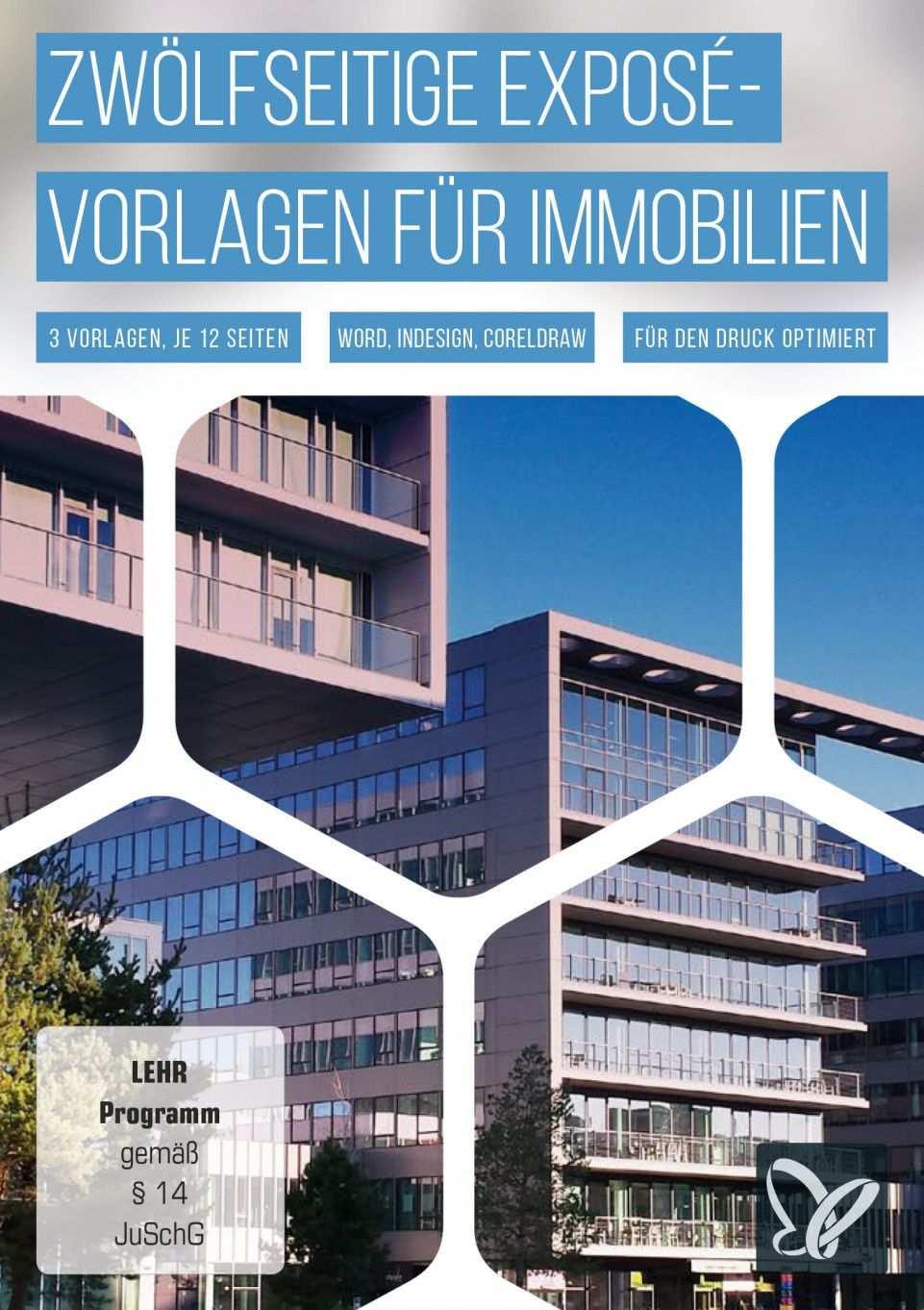 Immobilien Expose Vorlage Word
