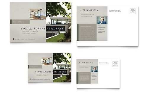 Postcard Templates Indesign Illustrator Publisher Word