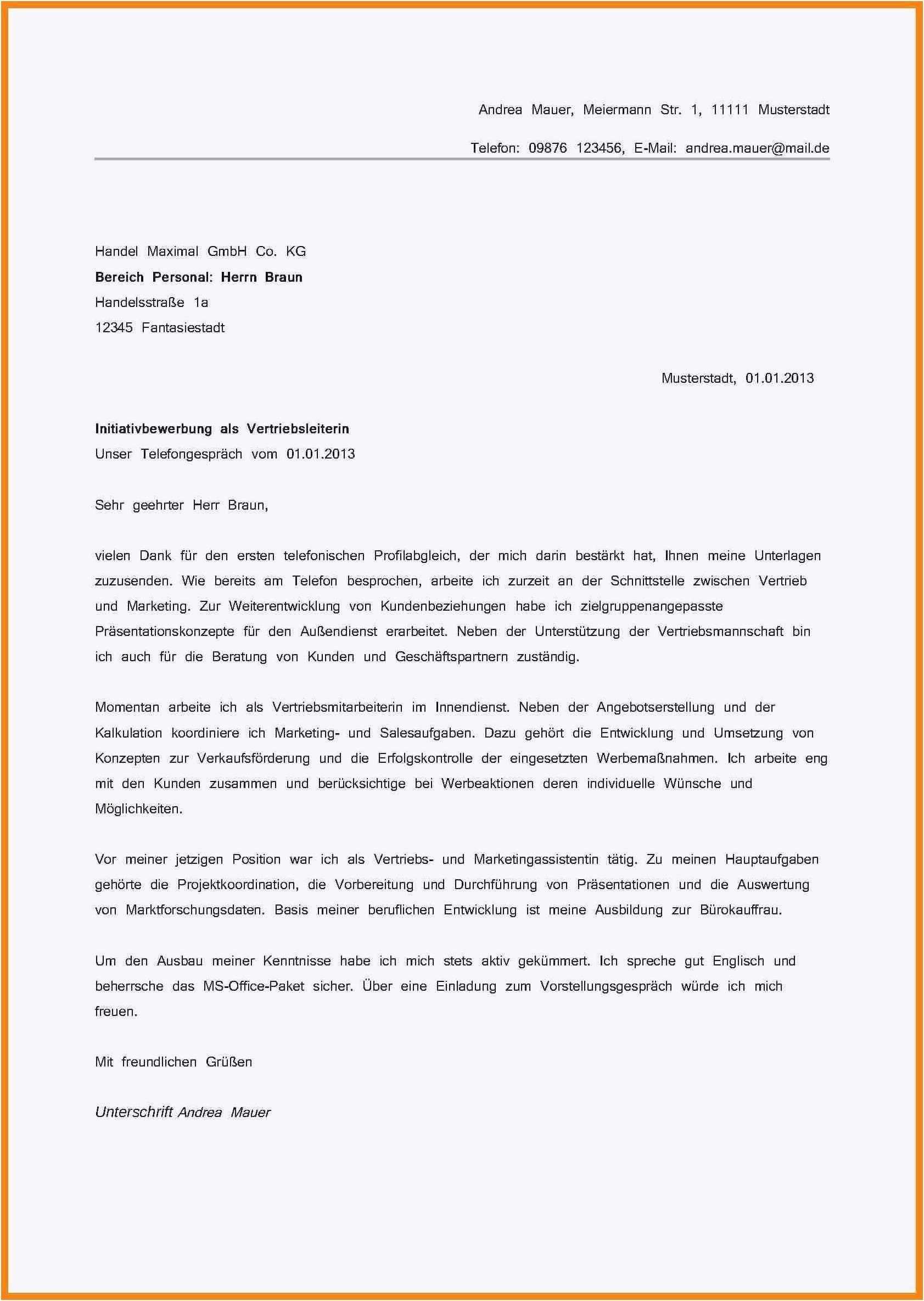 Neu Motivationsschreiben Verfassungsschutz Briefprobe