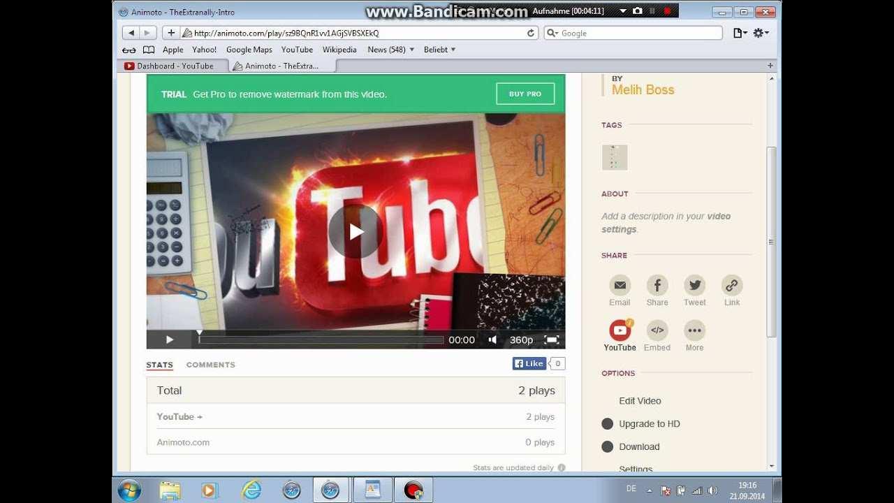 Intro Kostenlos Erstellen Ohne Programm Youtube