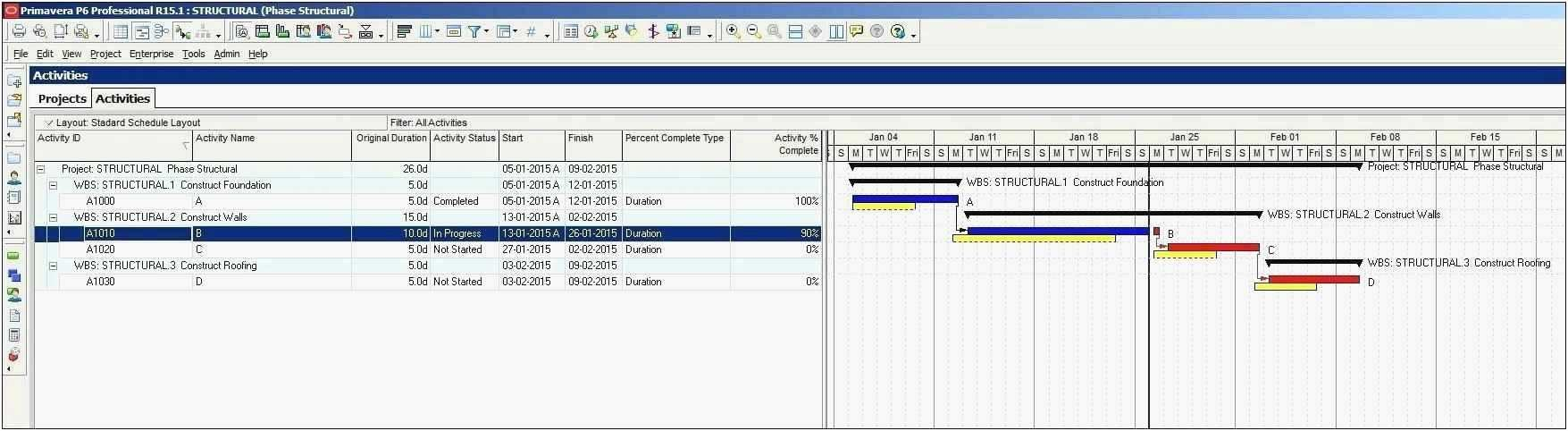 Project Status Tracker Excel Template In 2020 Project Management