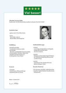 Cv Beispiel Cv Beispiel Wichtige Dokumente Dokumentation