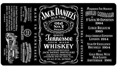 Jack Daniels Custom Fonts Jack Daniels Label Jack Daniels