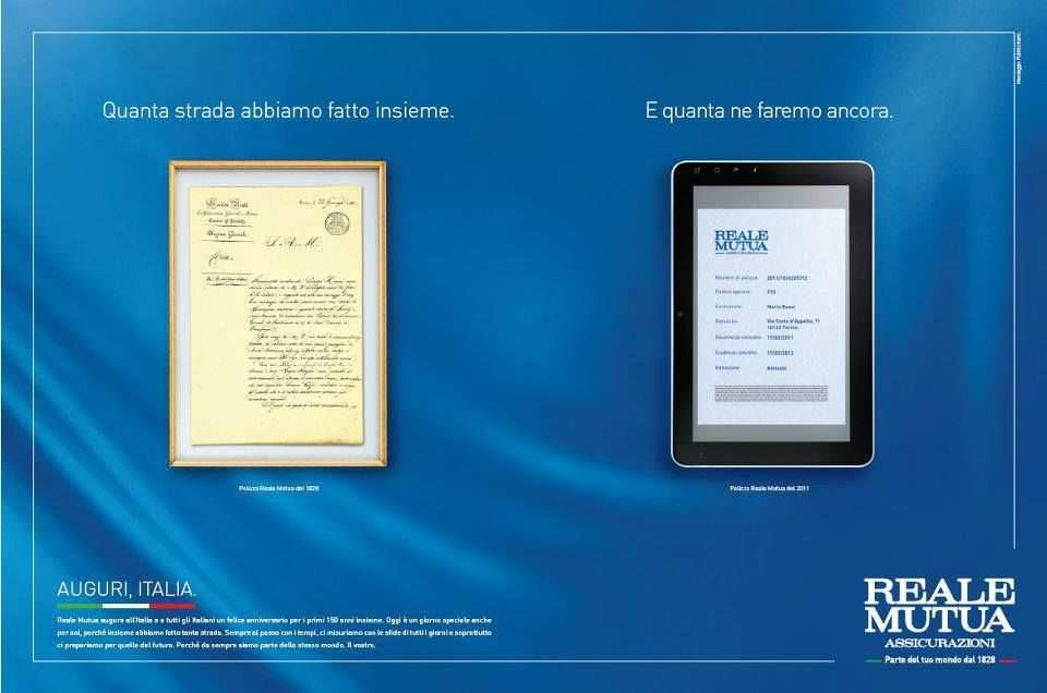 Buon Compleanno Italia La Campagna Reale Mutua Assicurazioni Per