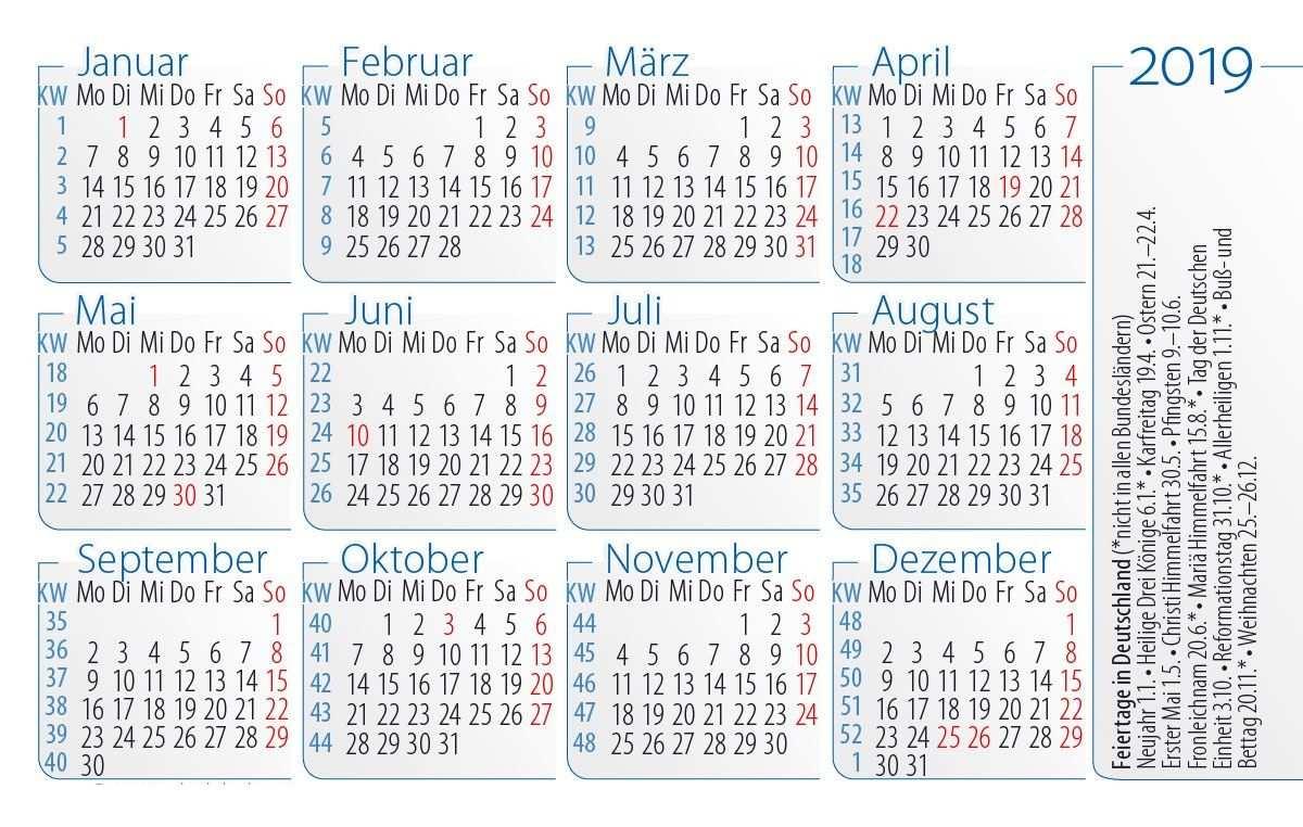 Druckbare Kalender 2019 Vorlage In Pdf Word Excel Periodic Table