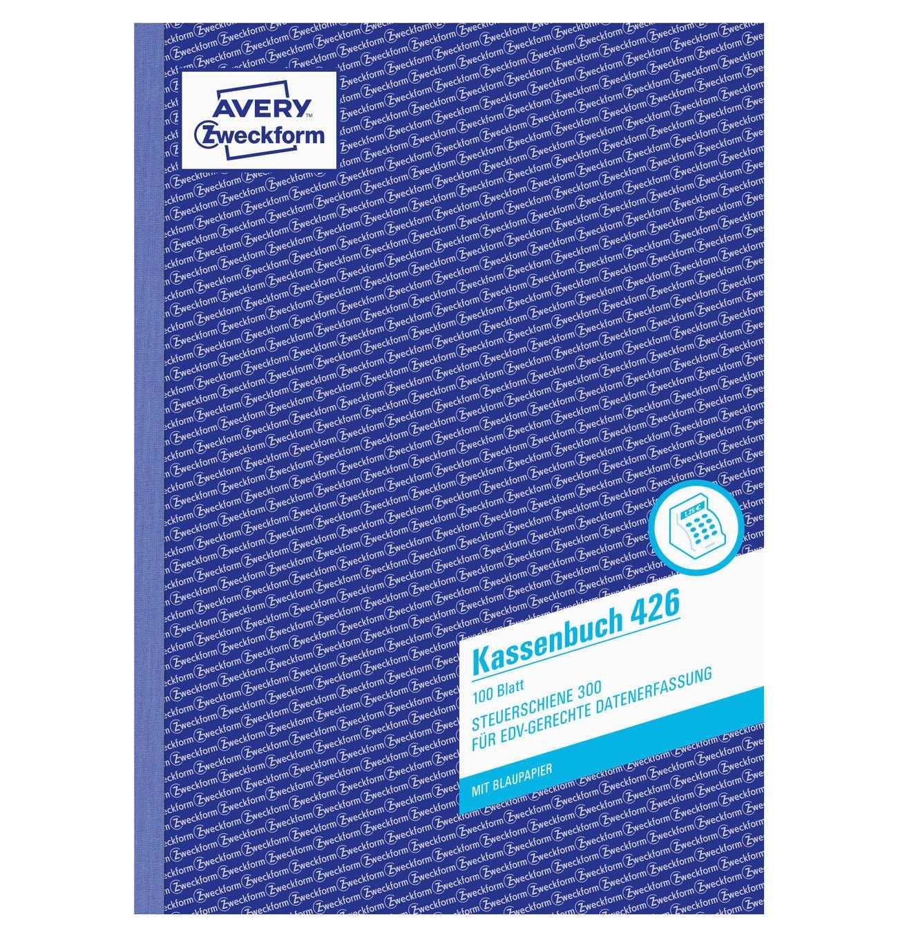 Kassenbuch A4 Edv Gerecht Mit Blaupapier 100 Blatt
