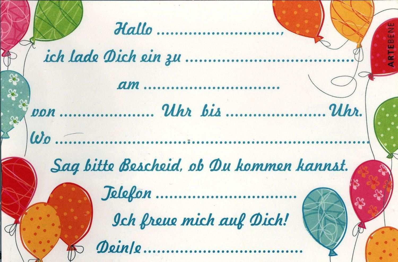 Einladung Kindergeburtstag Ausdrucken Einladungskarten