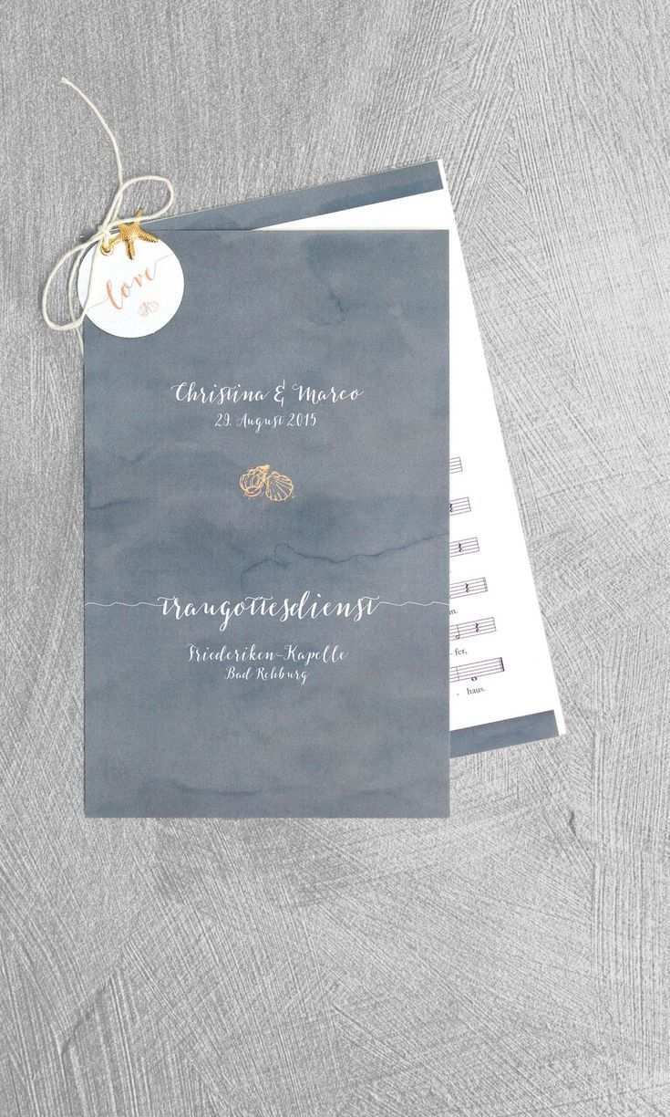 Kirchenheft Hochzeit Countless Tips Examples And Templates
