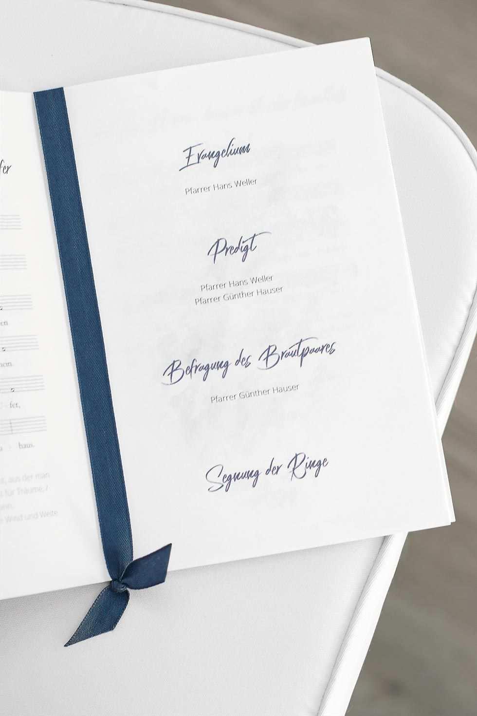 Kirchenheft Hochzeit Gestalten In 3 Einfachen Schritten