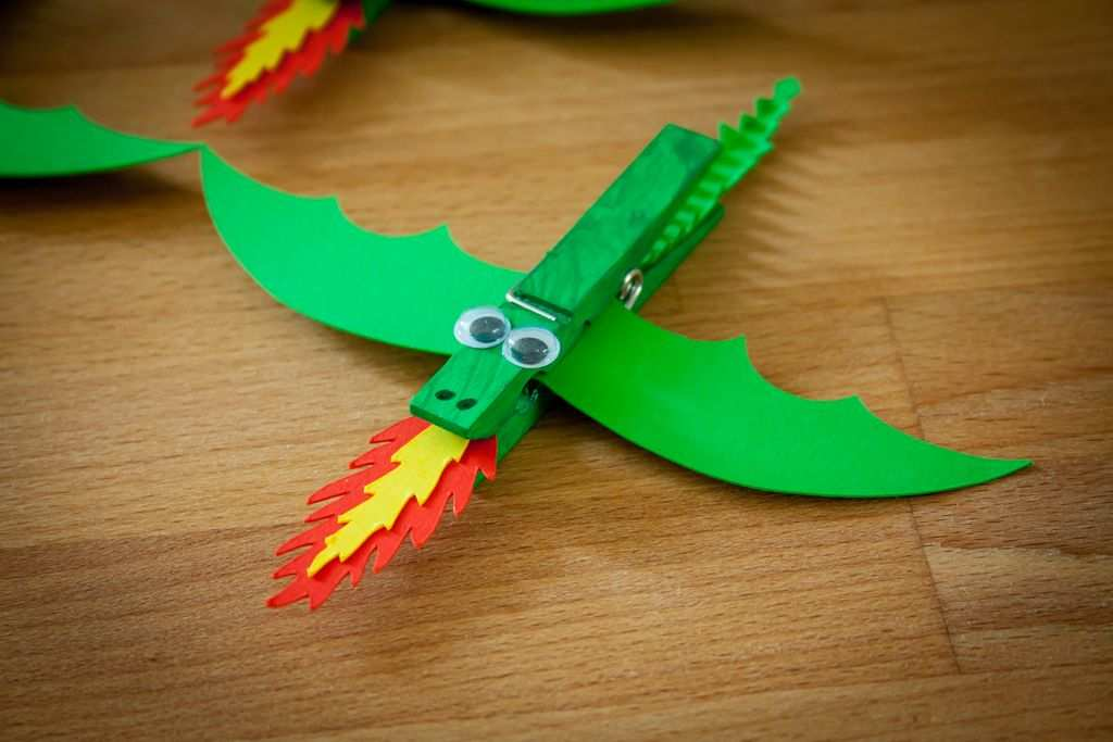 Wascheklammer Drachen Cool Crafts Dragon Crafts Crafts