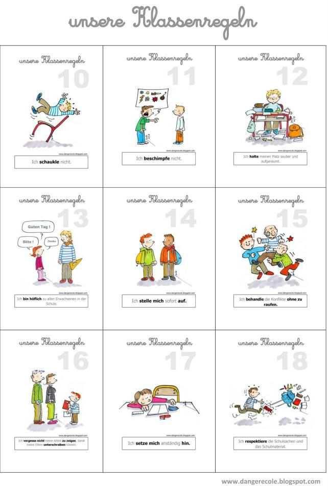 Unsere Klassenregeln Klassenregeln Klassenregeln Grundschule