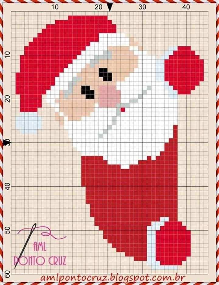 Pin Von Inge Auf Sticken Weihnachten Kreuzstichmuster